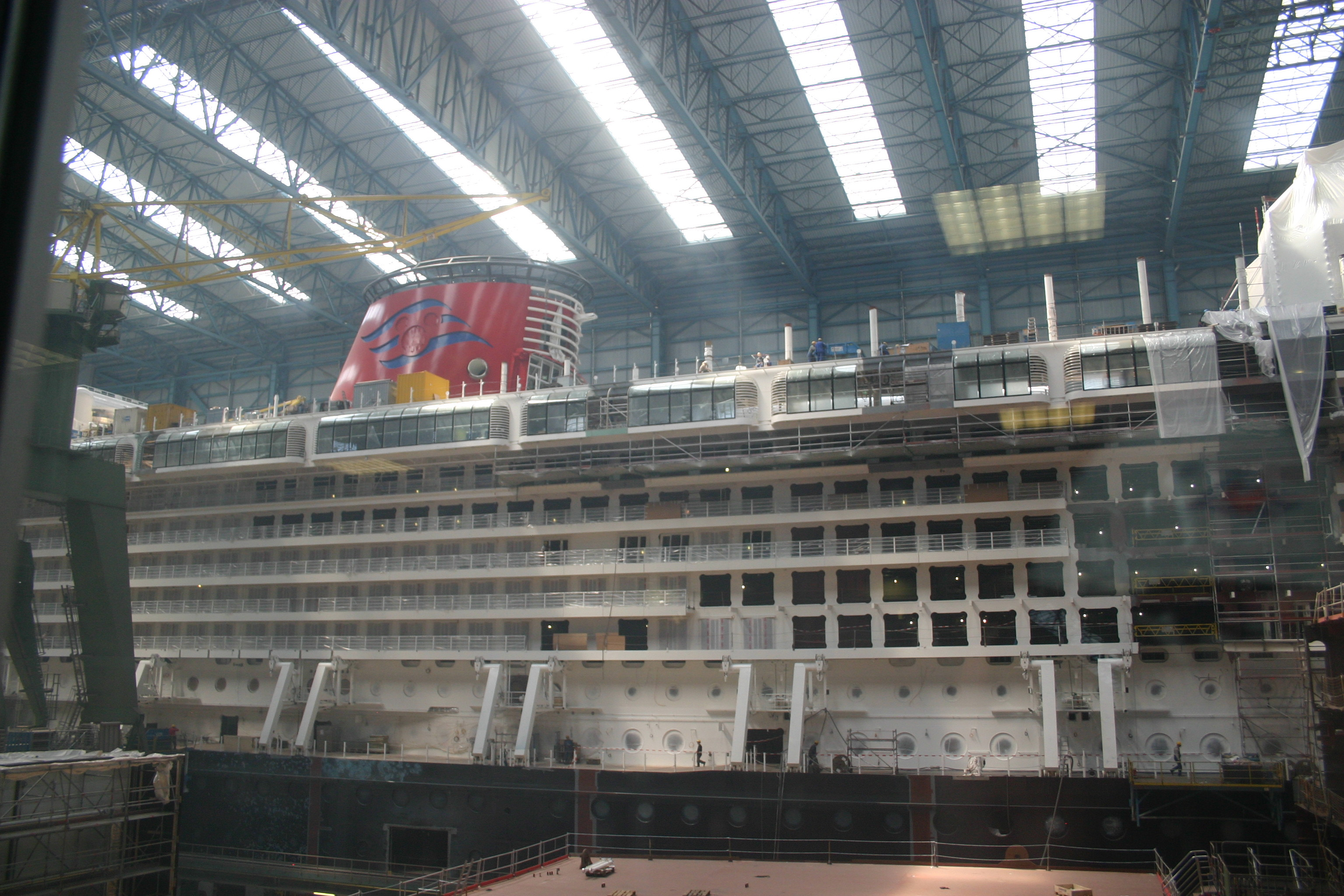 Mouseplanet Building The Dream By Tony Phoenix - Is disney building a new cruise ship