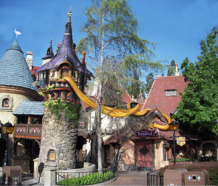 Disney World Rapunzel Tower