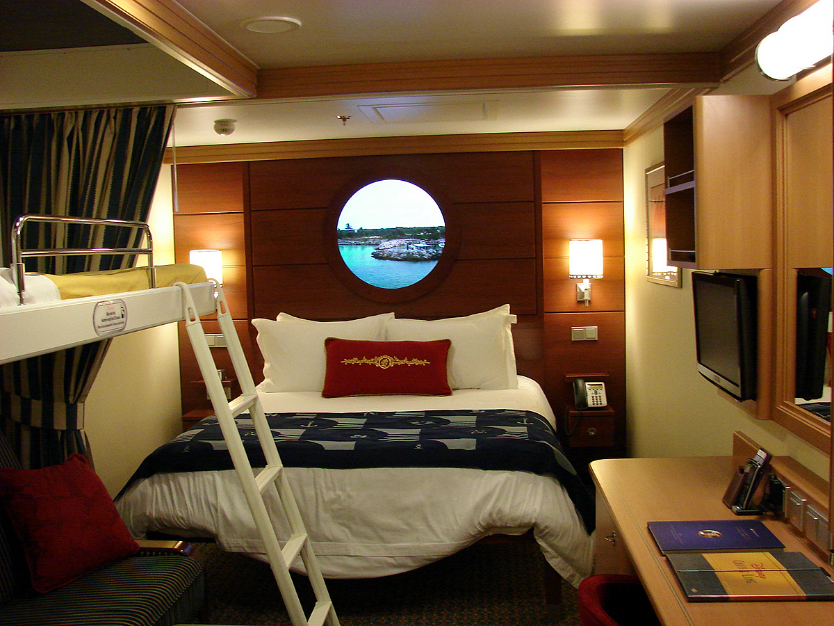 Some Category 11 Inside Staterooms Have Bunk Beds For The Kids Photo By Mark Goldhaber