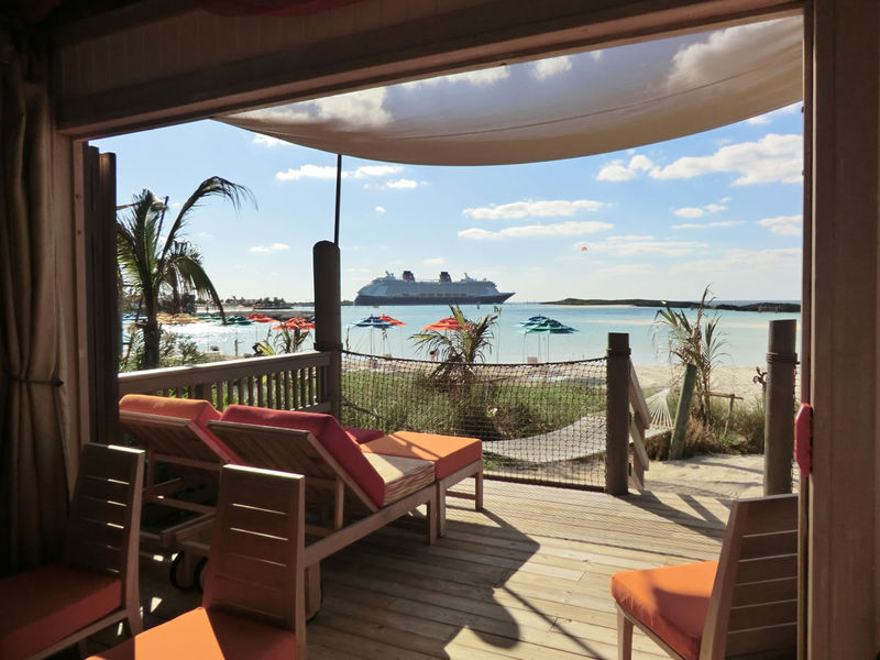 Cabana days on Castaway Cay