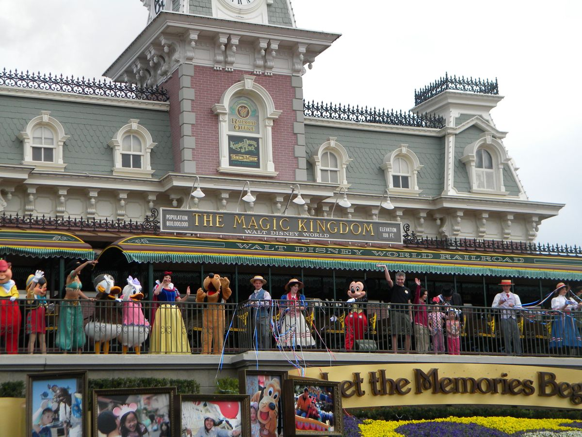 Image result for Train Station Welcome Show disneyland california
