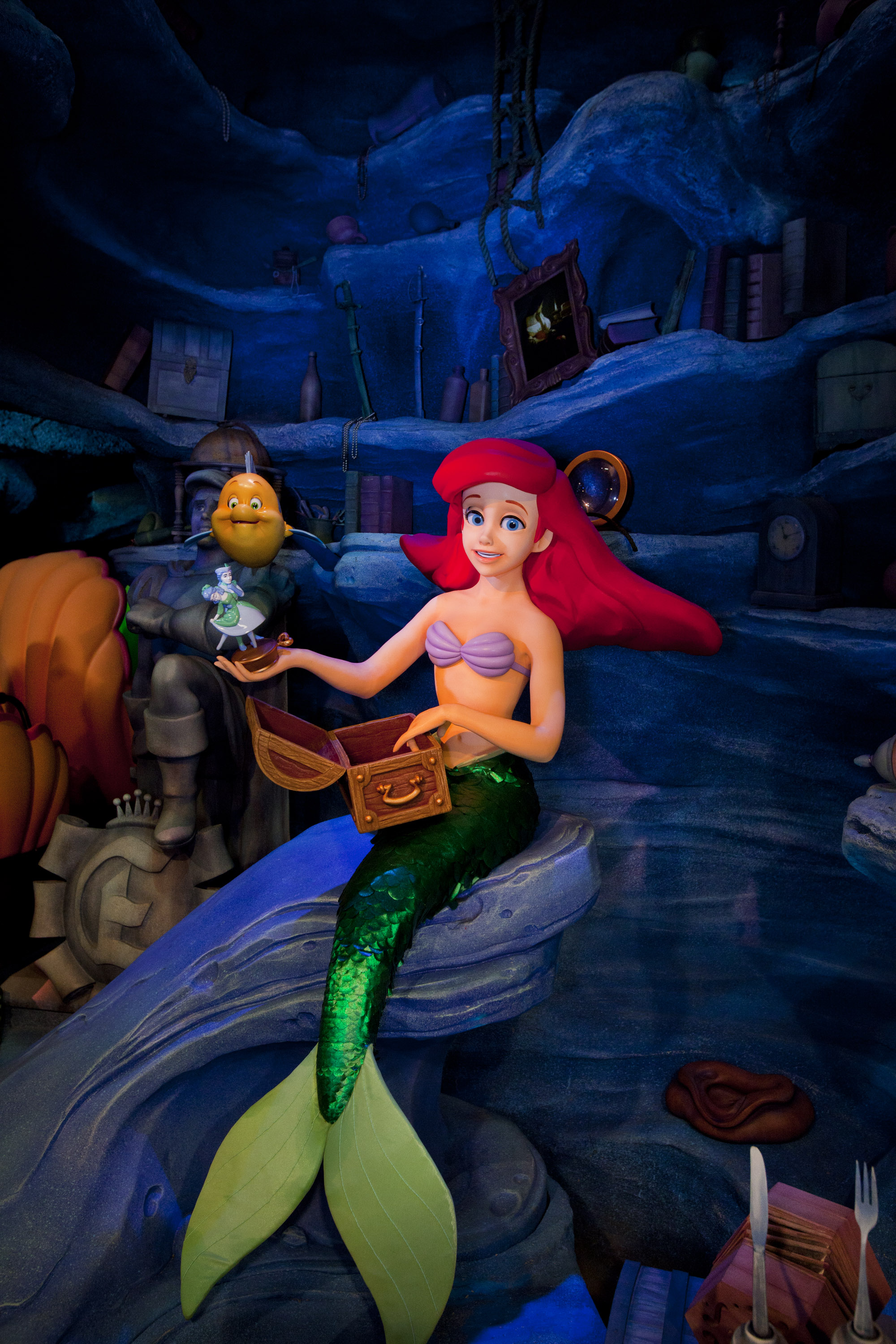 Glen Keane Who Animated Ariel For The Little Mermaid Recommended That Ariels Hair Be Treated As A Character All Its Own Photo C Disney