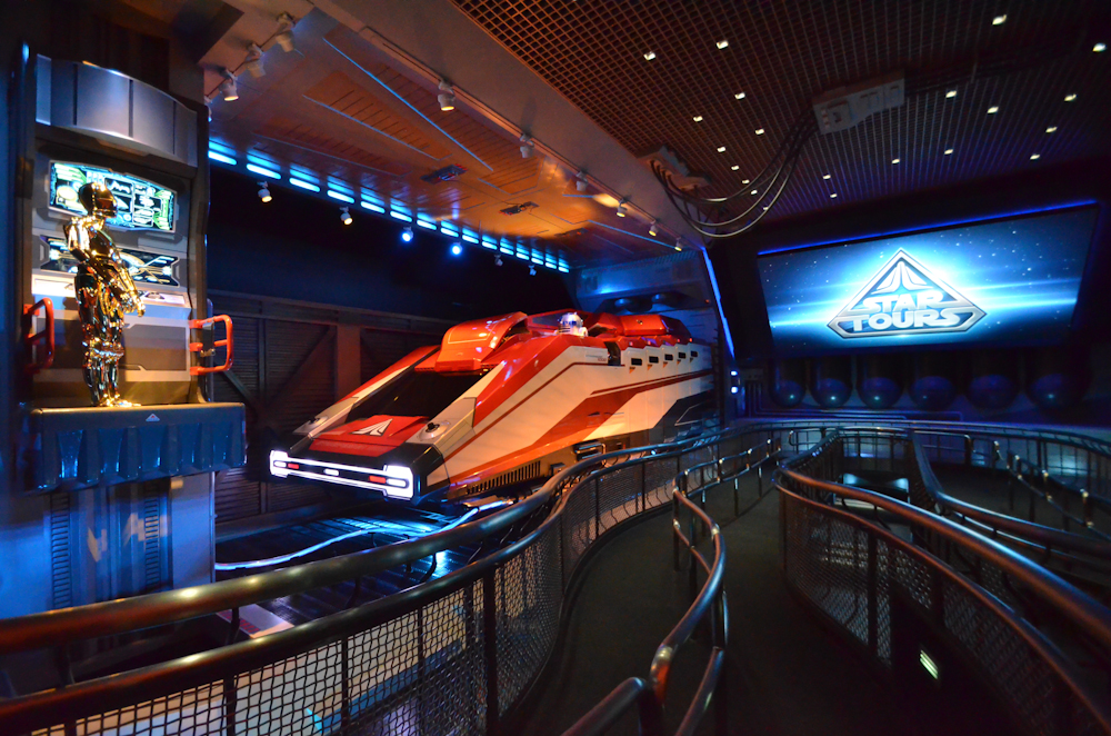 Star Tours Opening Disney Hollywood Studios