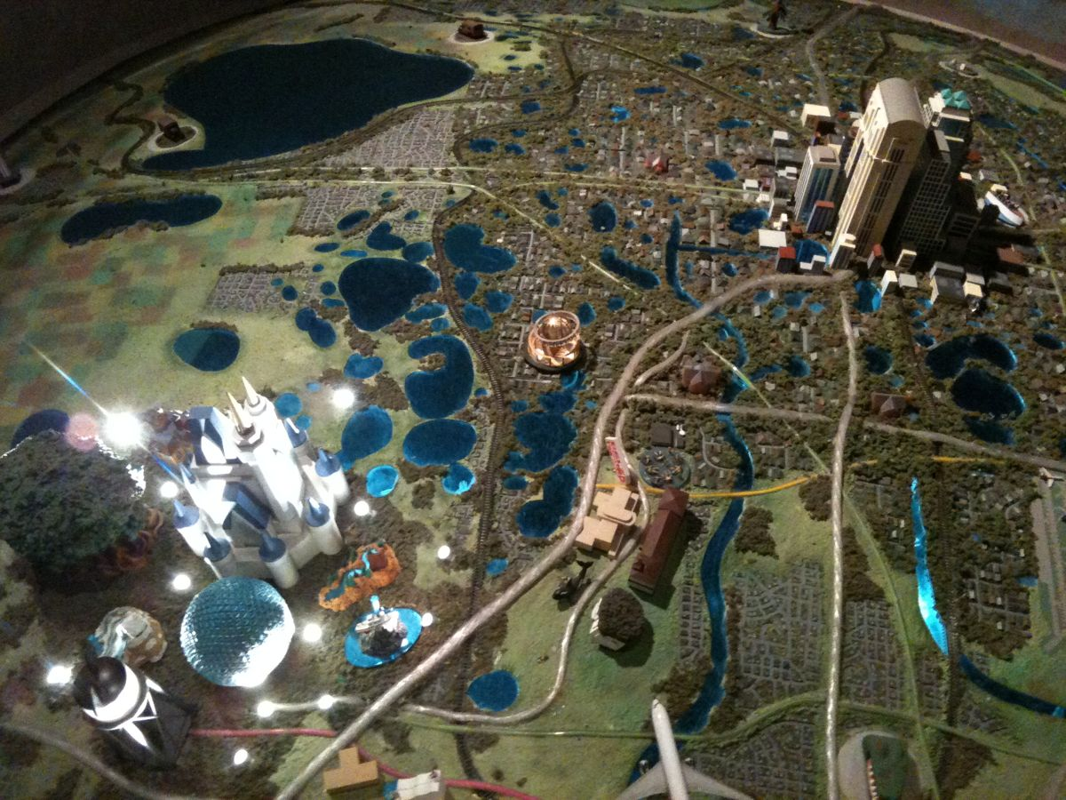 Mouseplanet how to celebrate walt disney worlds 40th anniversary this map highlights the many changes made over the last several decades to orlando photo by j jeff kober gumiabroncs Gallery