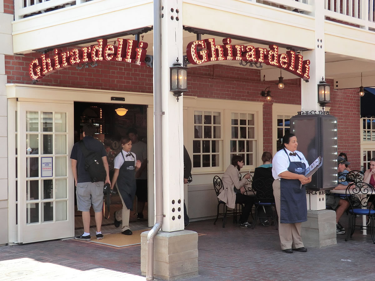 Image result for ghirardelli california adventure