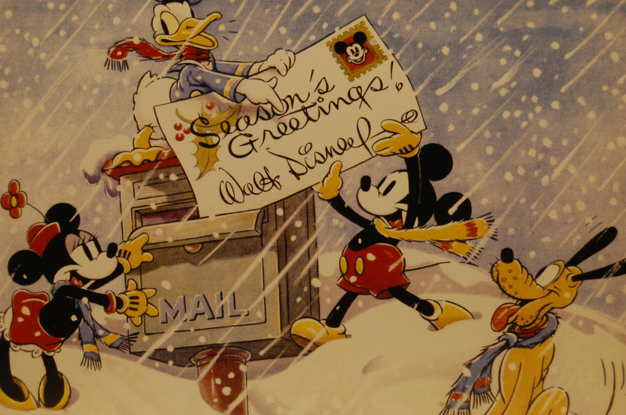Walt Disney Christmas Cards   www.topsimages.com