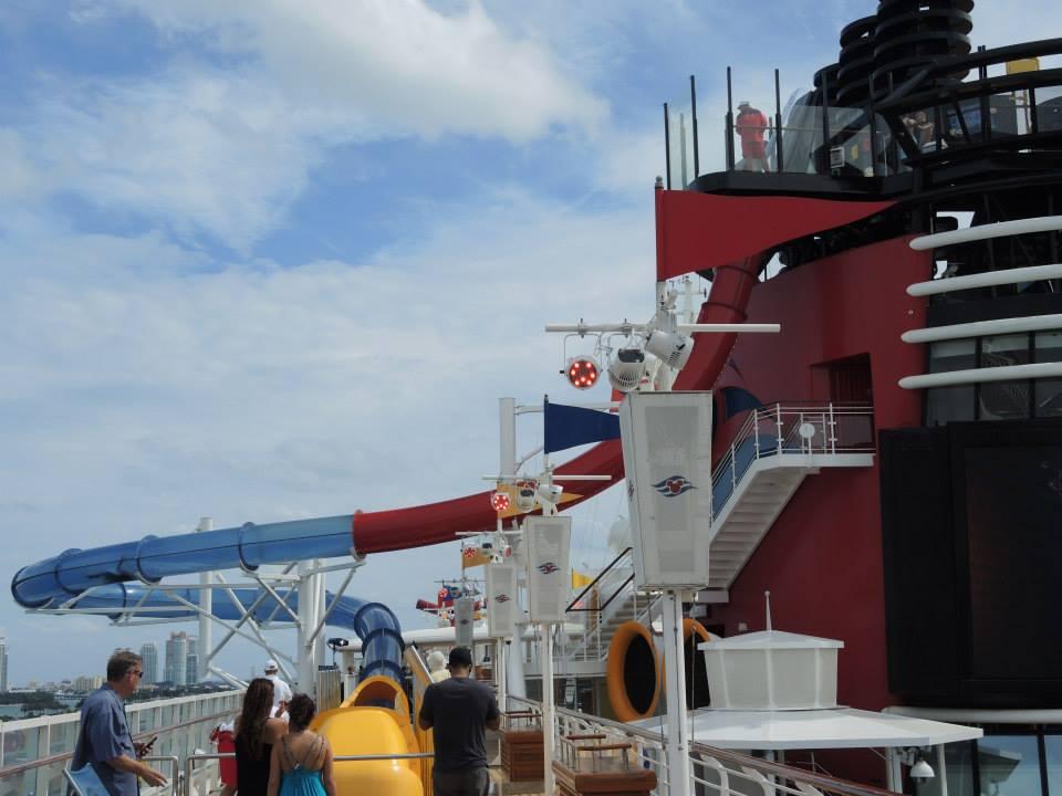 Disney Cruise Water Slide