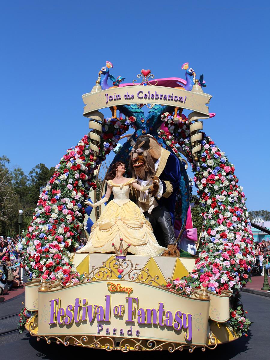 Festival of Fantasy Disney Parade