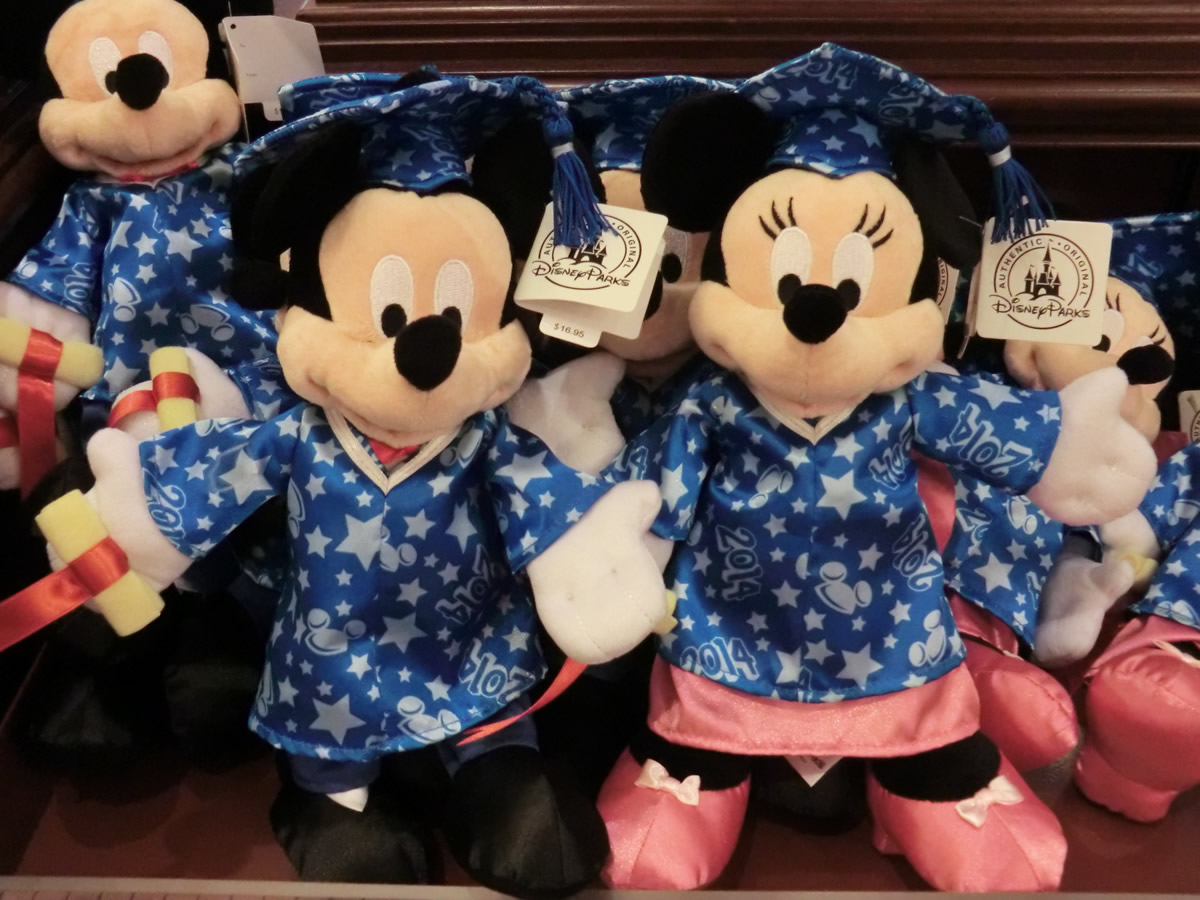Mickey And Minnie Are Dressed To Celebrate The Class Of 2014 Photo By Adrienne Vincent Phoenix
