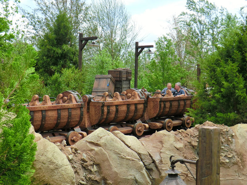 Sneak Peek at the Seven Dwarfs Mine Train