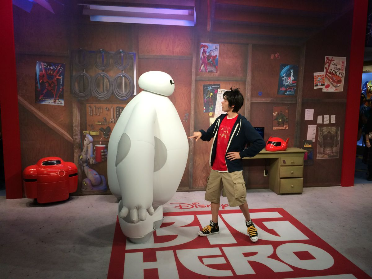 meet the characters big hero 6 movie