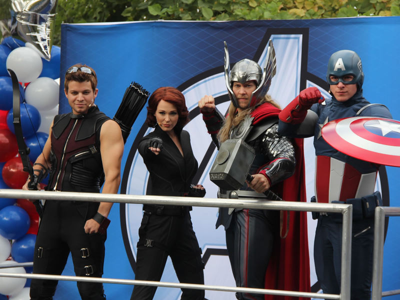 It's Live! Go! Go! Go! Disney Strikes Gold With the Avengers Half Marathon