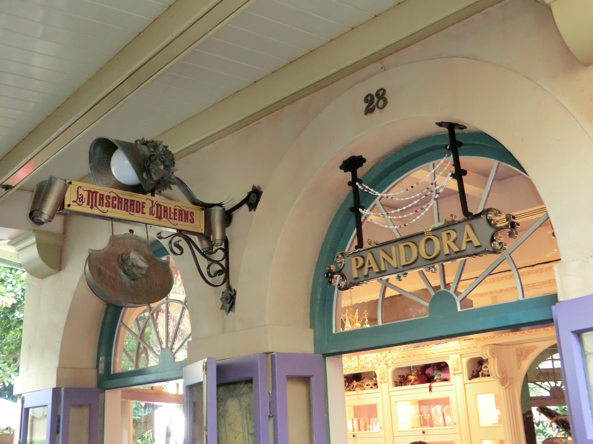 Pandora Store in New Orleans Square | The DIS Disney Discussion ...