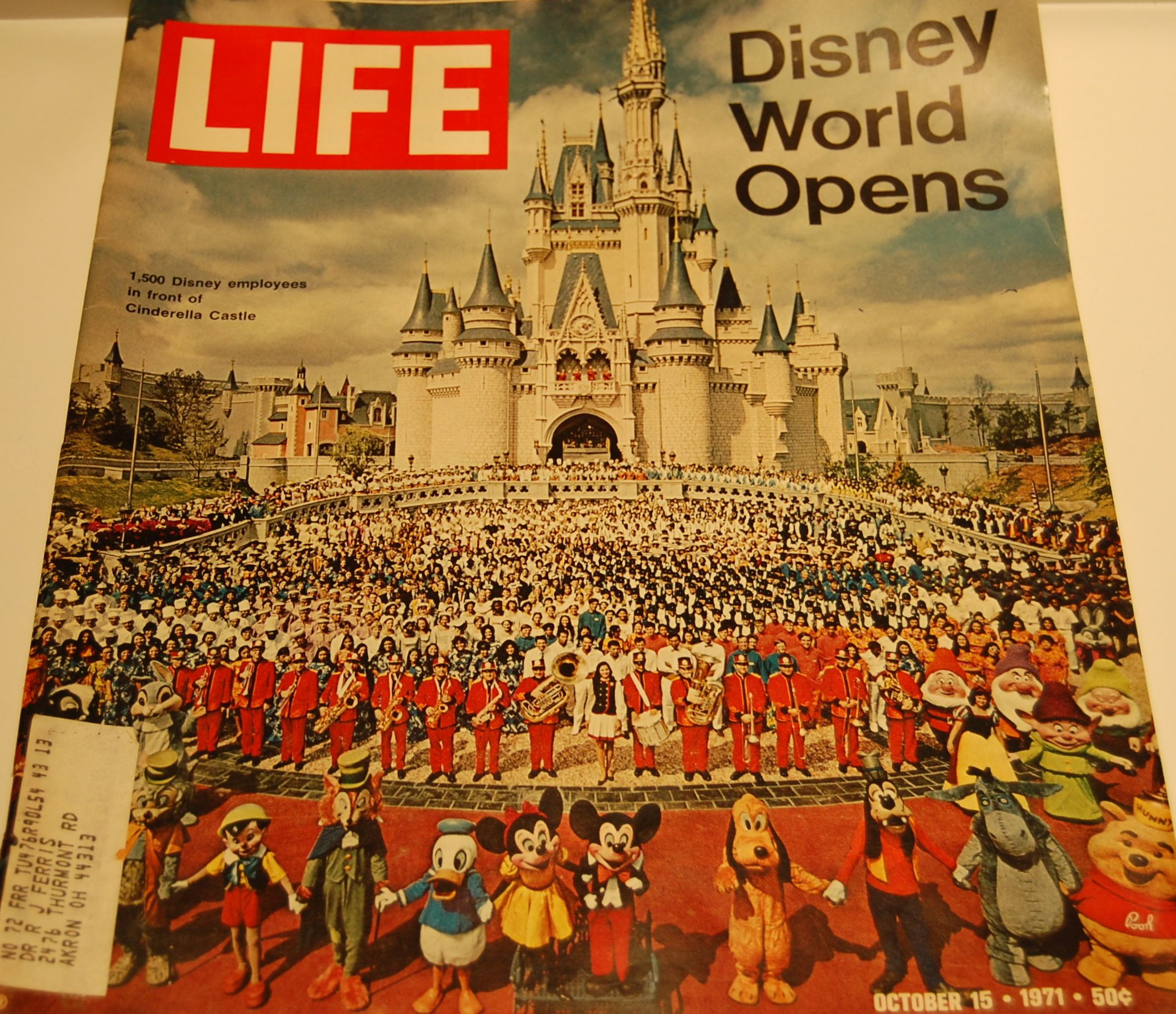 Disney Stuff - Life Magazine October 1971