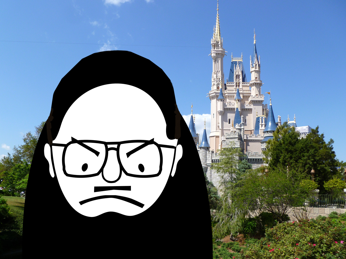 Grumpy Old Fool's Day at Disney - The Road to Hong Kong