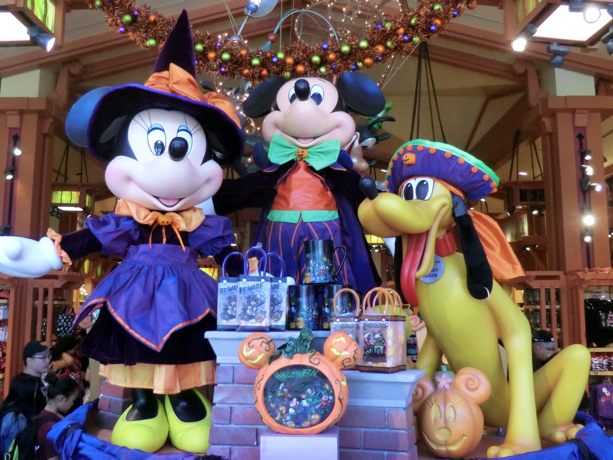 the first halloween merchandise has arrived at the disneyland resort photo by adrienne vincent phoenix