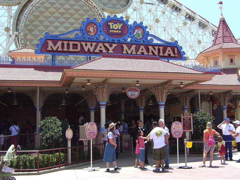 Toy Story Midway Mania FASTPASS opens Thursday at Disney California Adventure