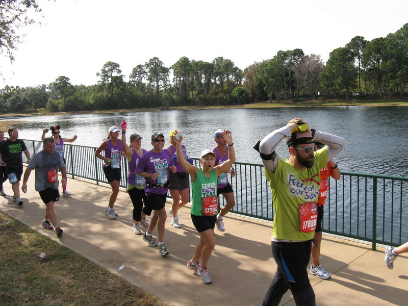 Spectating on Walt Disney World Marathon Weekend
