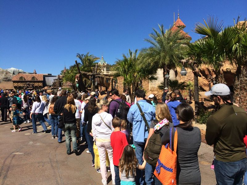 Trends in Disney Theme Park Wait Times