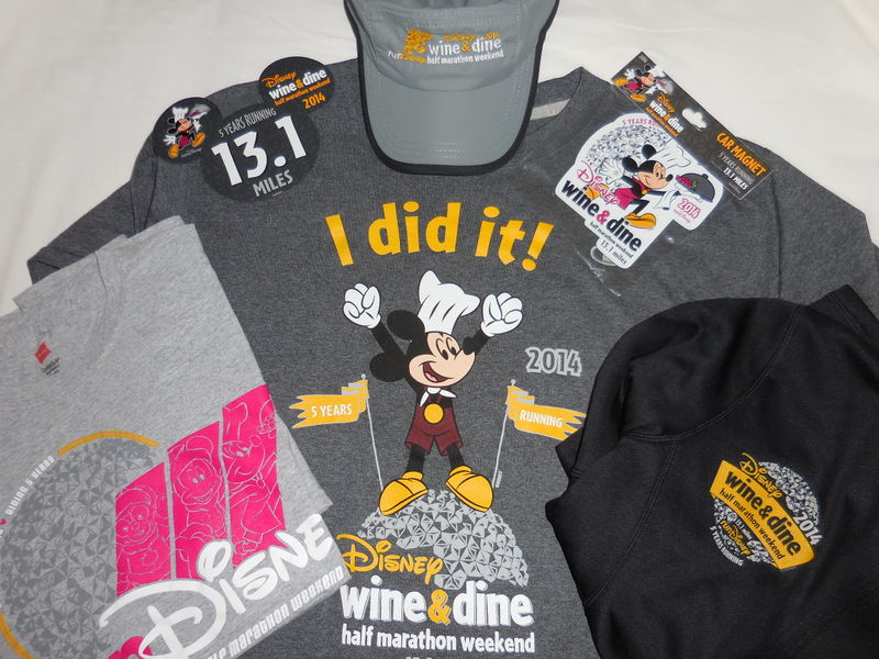 Disney Wine & Dine Half Marathon - Five Years Running