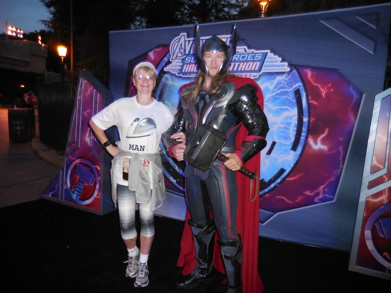 Blown Away at the Inaugural Avengers Super Heroes Half Marathon Weekend