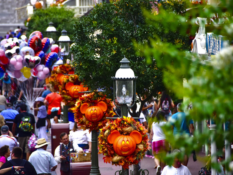 An Optimist's Commentary on Fall Crowds at Disneyland Resort and Walt Disney World