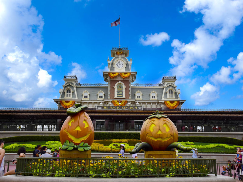 Fall Colors at the Magic Kingdom