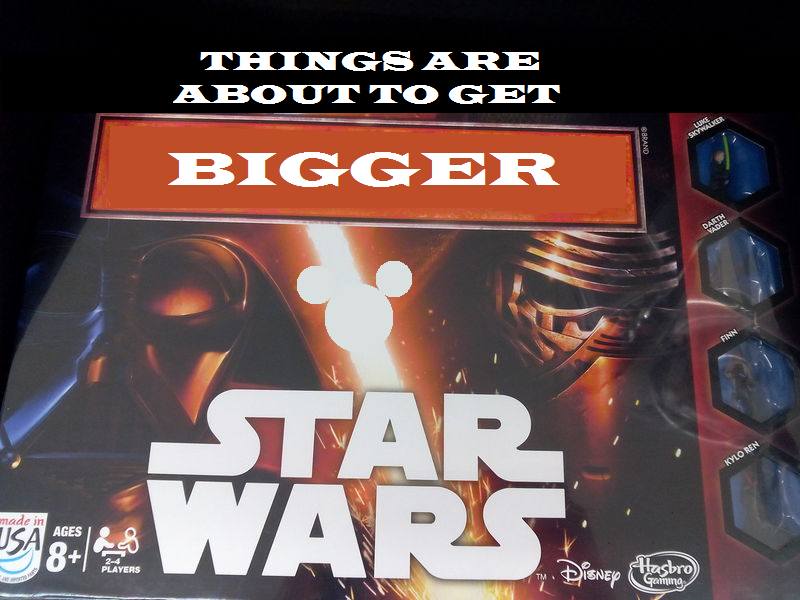 Star Wars is About to Get Bigger, Unimaginably Bigger