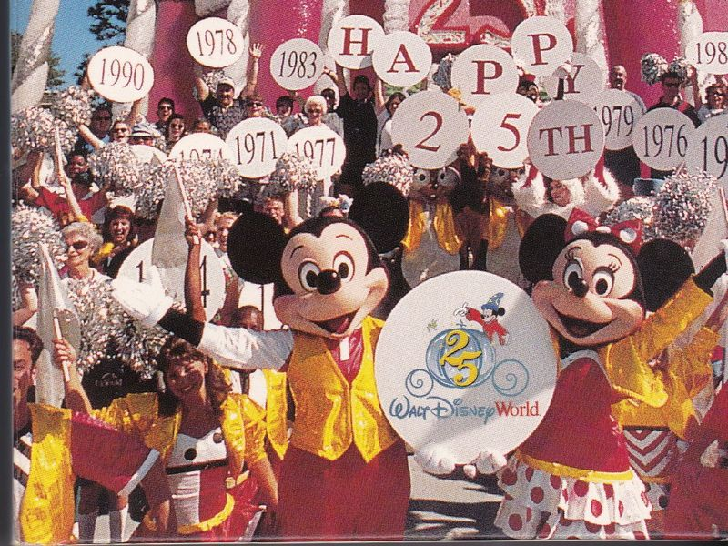 Disney Stuff - Walt Disney World 25th Anniversary Vacation Planning Video