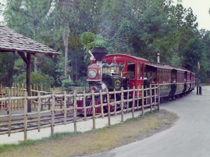 Loving the Great Outdoors the Disney Way - The Fort Wilderness Railroad