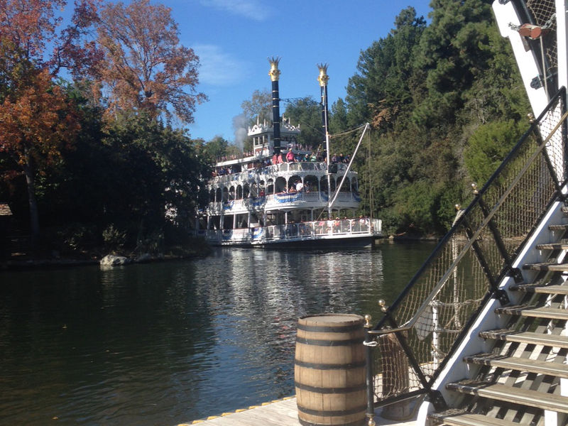 Sliver of a Rivers of America