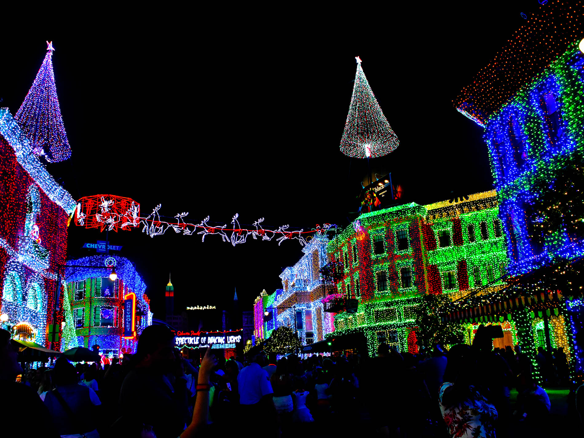 this will be the final year for the osborne family spectacle of dancing lights at disneys hollywood studios photo by bonnie fink - Hollywood Studios Christmas Lights