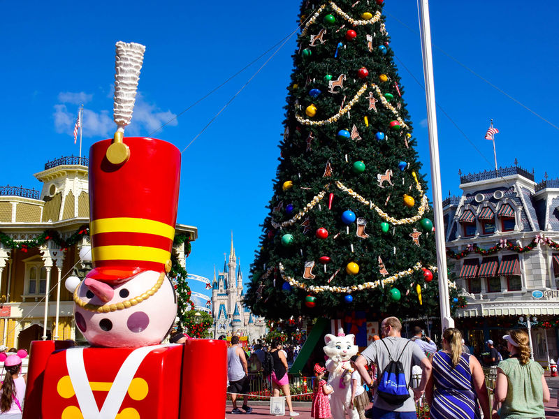 Holiday Decorations at Walt Disney World Resort