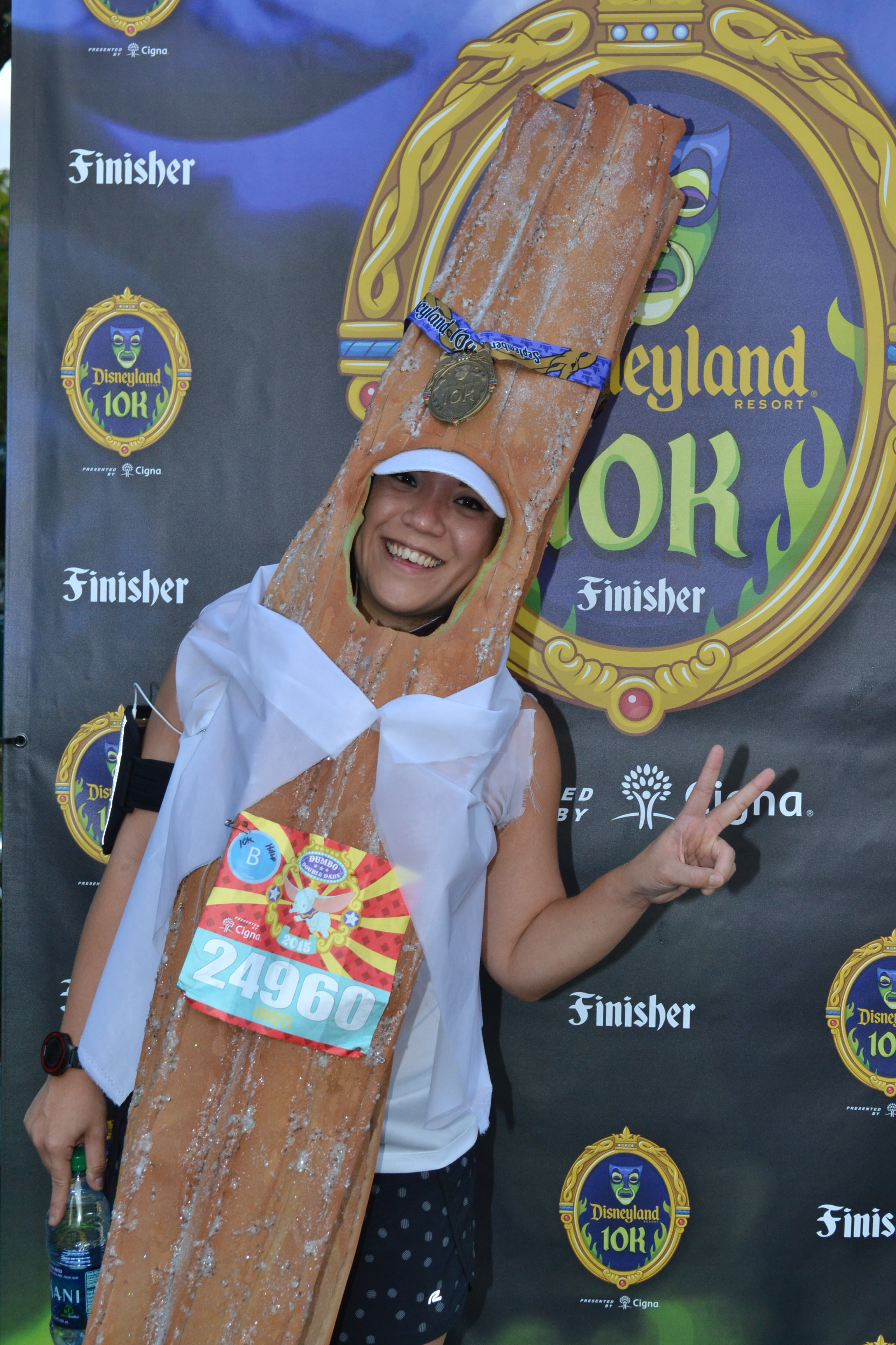 Karen Chu turned quite a few heads during the 2015 Disneyland 10K as she ran the entire course dressed as a larger-than-life churro.  sc 1 st  MousePlanet & Mouseplanet - Racing in Costume by Lani Teshima