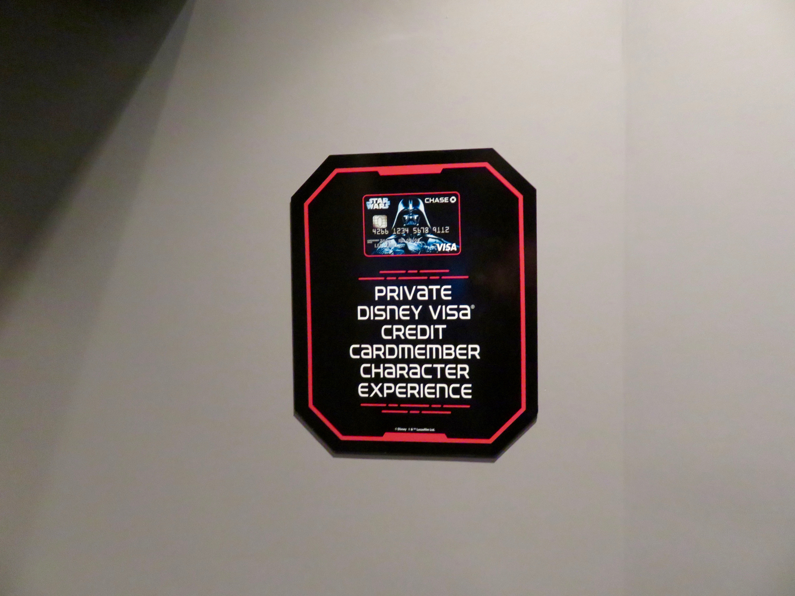 Mouseplanet walt disney world resort update for december 8 13 a private disney visa cardholder photo encounter is also available during published hours in the star wars launch bay photo by alan s dalinka m4hsunfo