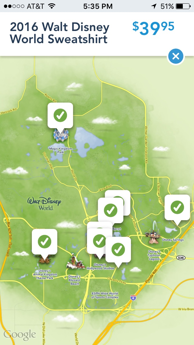 Mouseplanet take a closer look at the shop disney parks app by the gumiabroncs Images