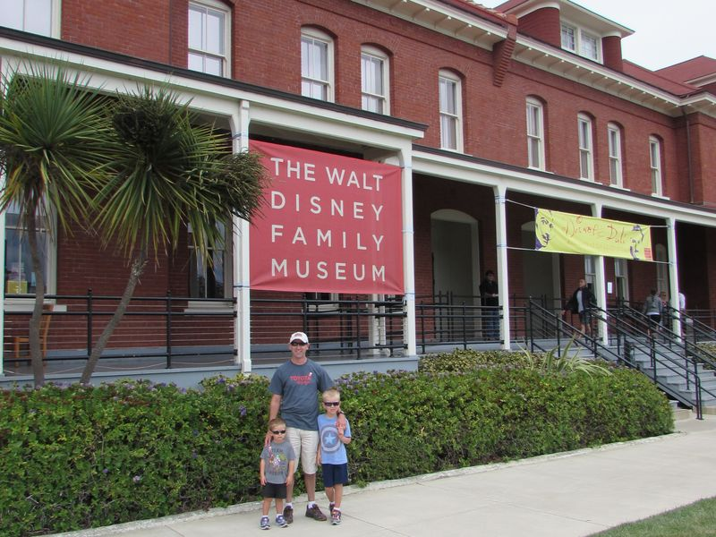 Taking Kids to the Walt Disney Family Museum