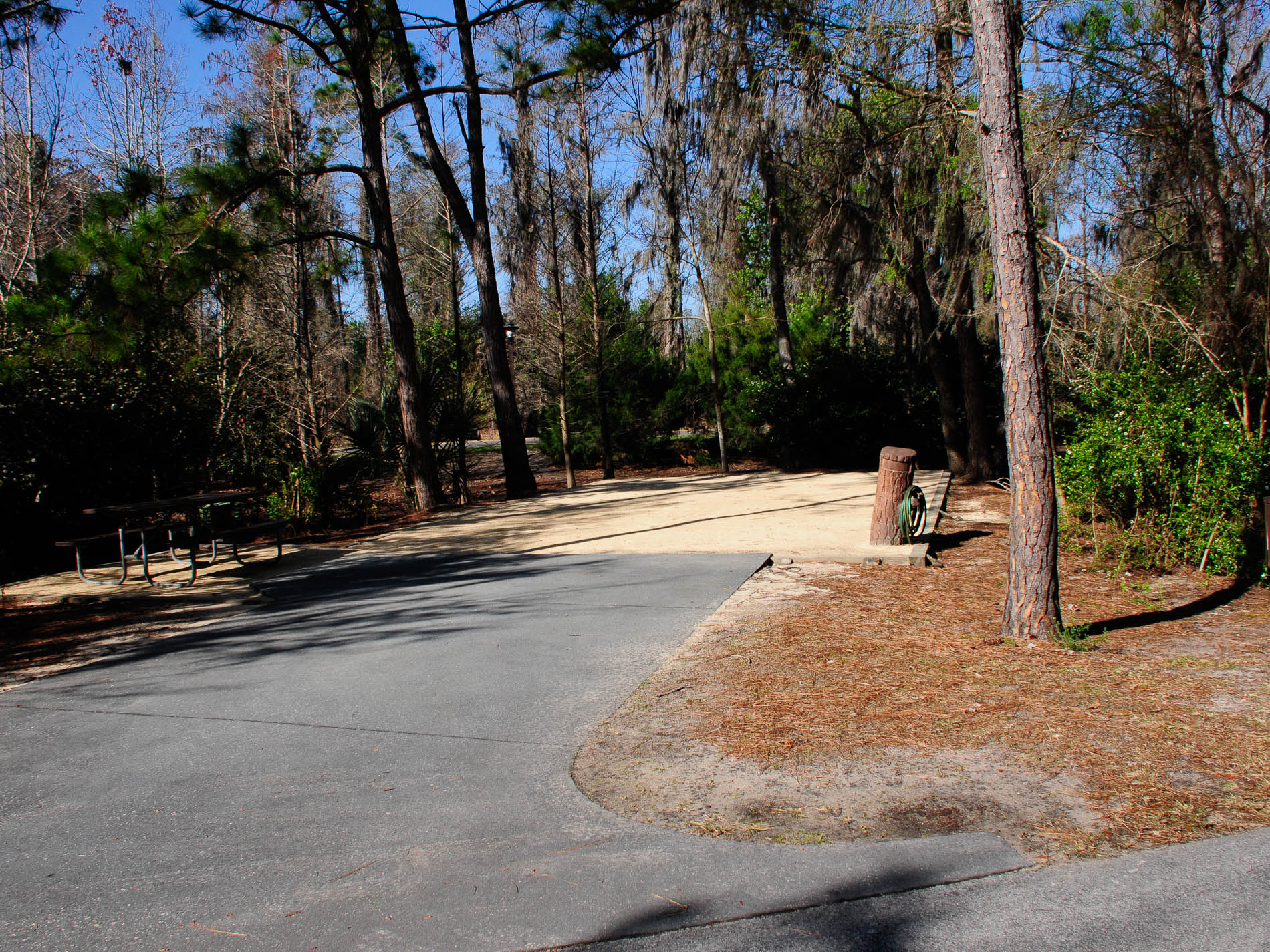 Full Hookup Sites At Fort Wilderness