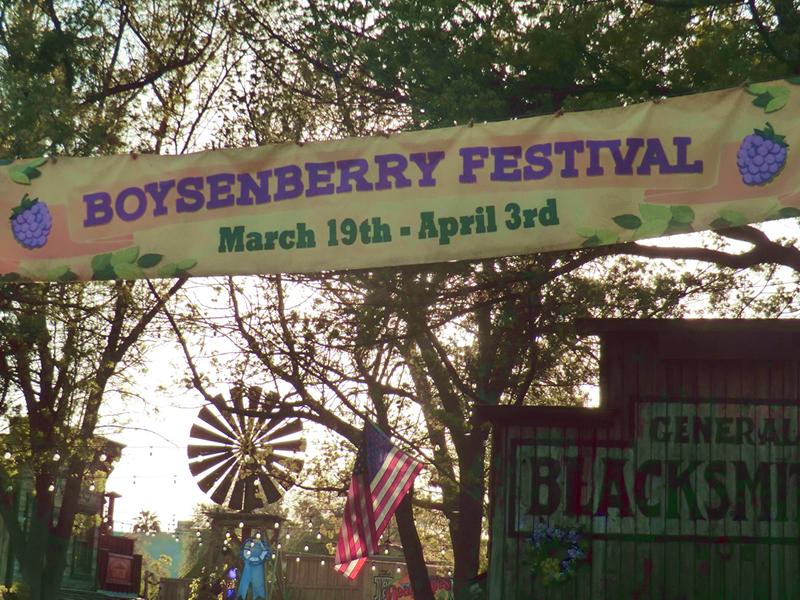 Go Beyond the Berm to the Boysenberry Festival at Knott's Berry Farm