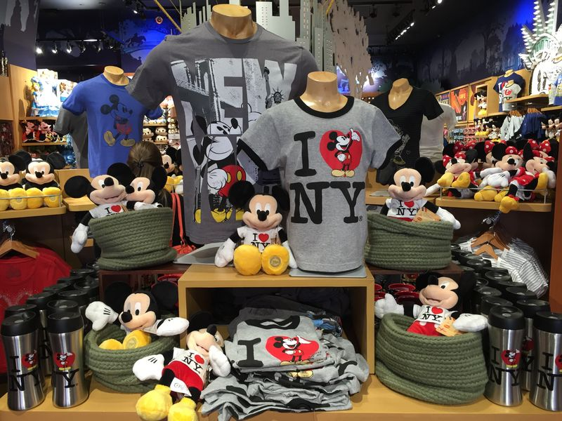 A Visit to the Disney Store in New York City's Famed Times Square
