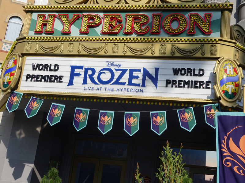 Image result for frozen live at the hyperion