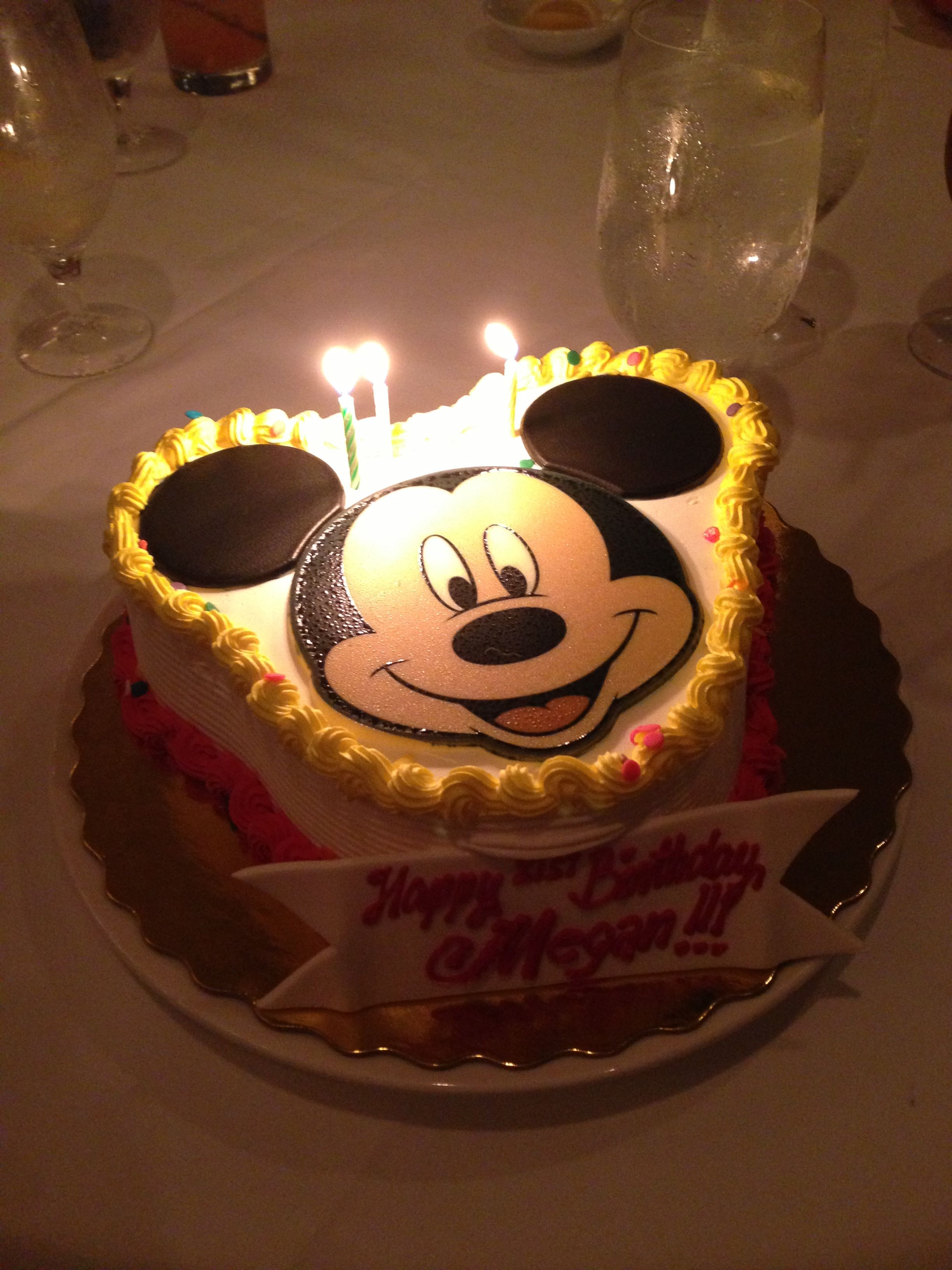 Mickey Mouse Birthday Cake Photo By Megan Walker
