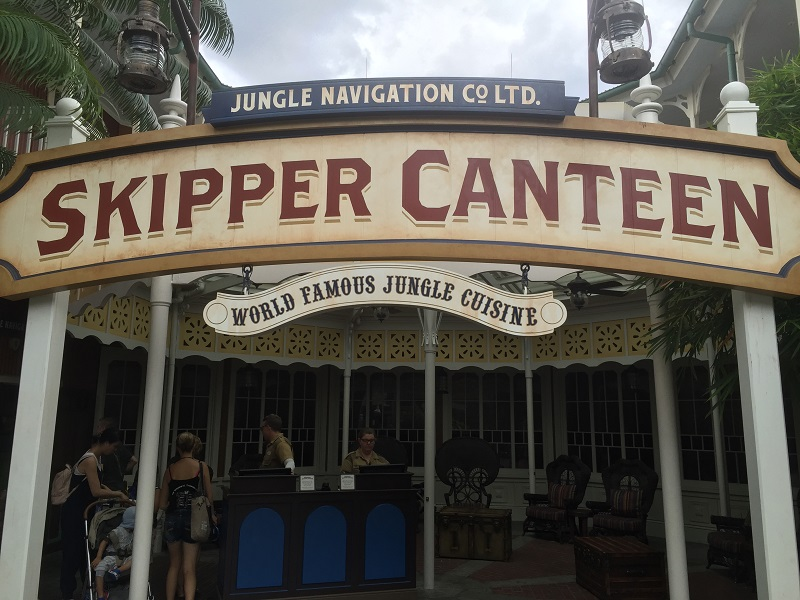 Skipper Canteen - Jungle Cruise Cuisine and Dry Humor