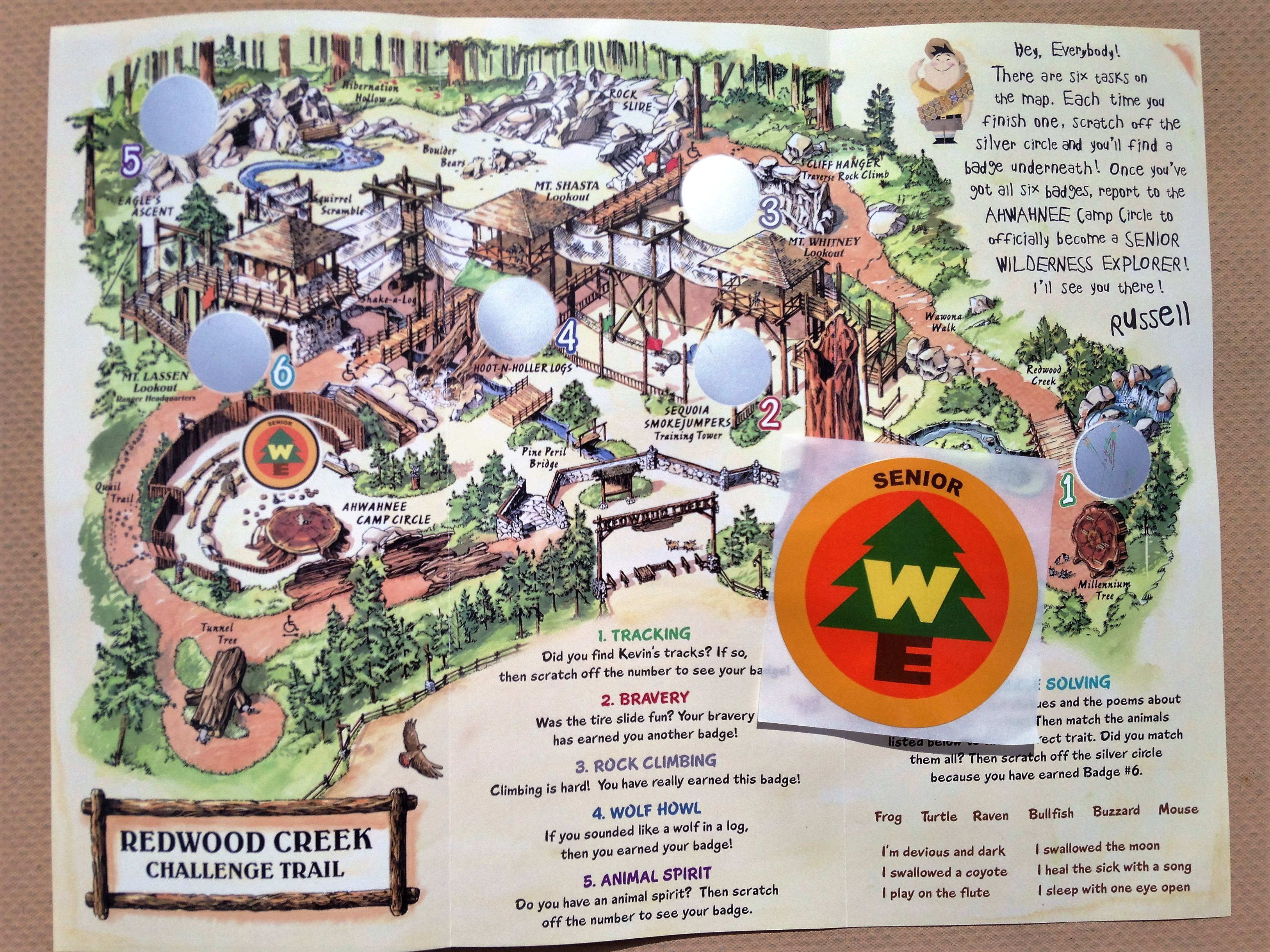 Mouseplanet - Redwood Creek Challenge Trail: The Adventure Awaits by on
