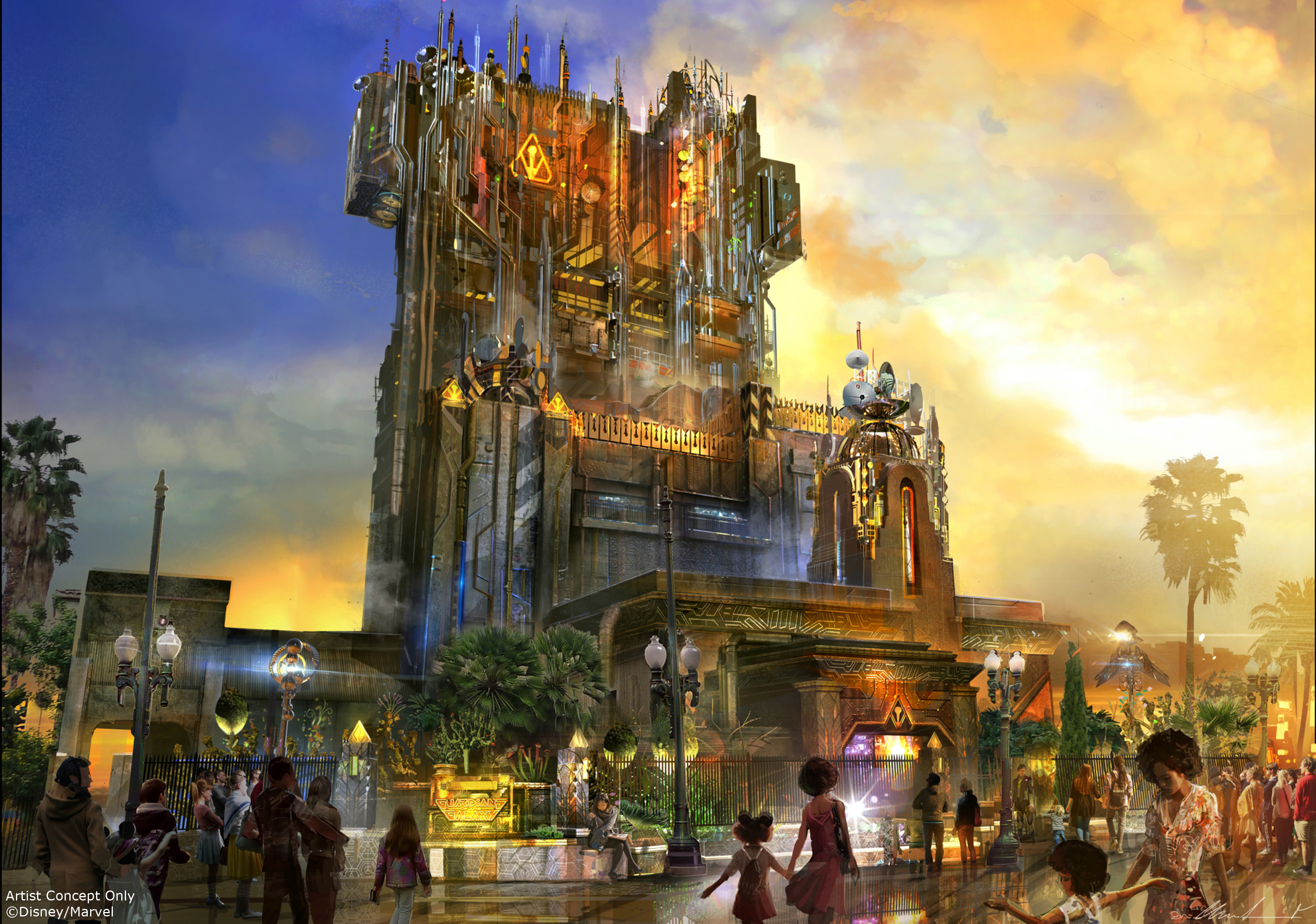 Mouseplanet disneyland resort update for february 20 26 2017 by guardians of the galaxy mission breakout opens may 27 at disney califo rnia adventure photo disney publicscrutiny Images