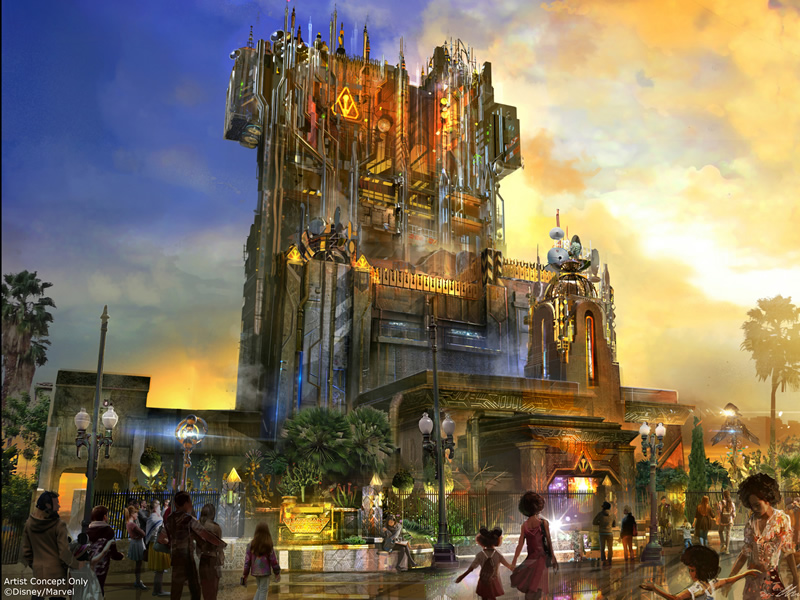Guardians of the Galaxy ride coming to Disney California Adventure