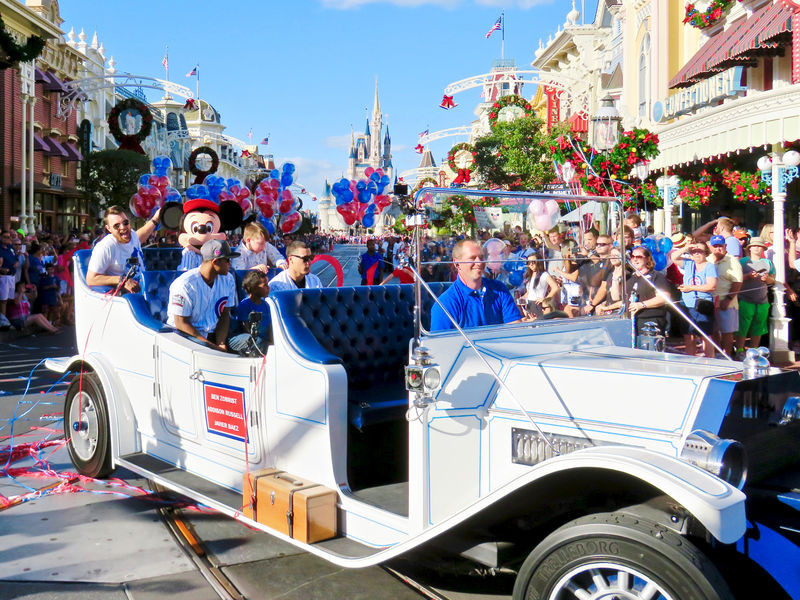 Walt Disney World Salutes 2016 World Series Champs Chicago Cubs on Main Street U.S.A.