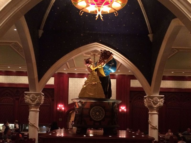 My Disney Top 5 - Details in the Be Our Guest Restaurant