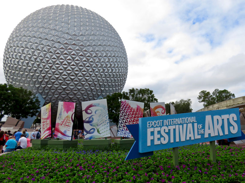 Visiting the First Ever Epcot International Festival of the Arts