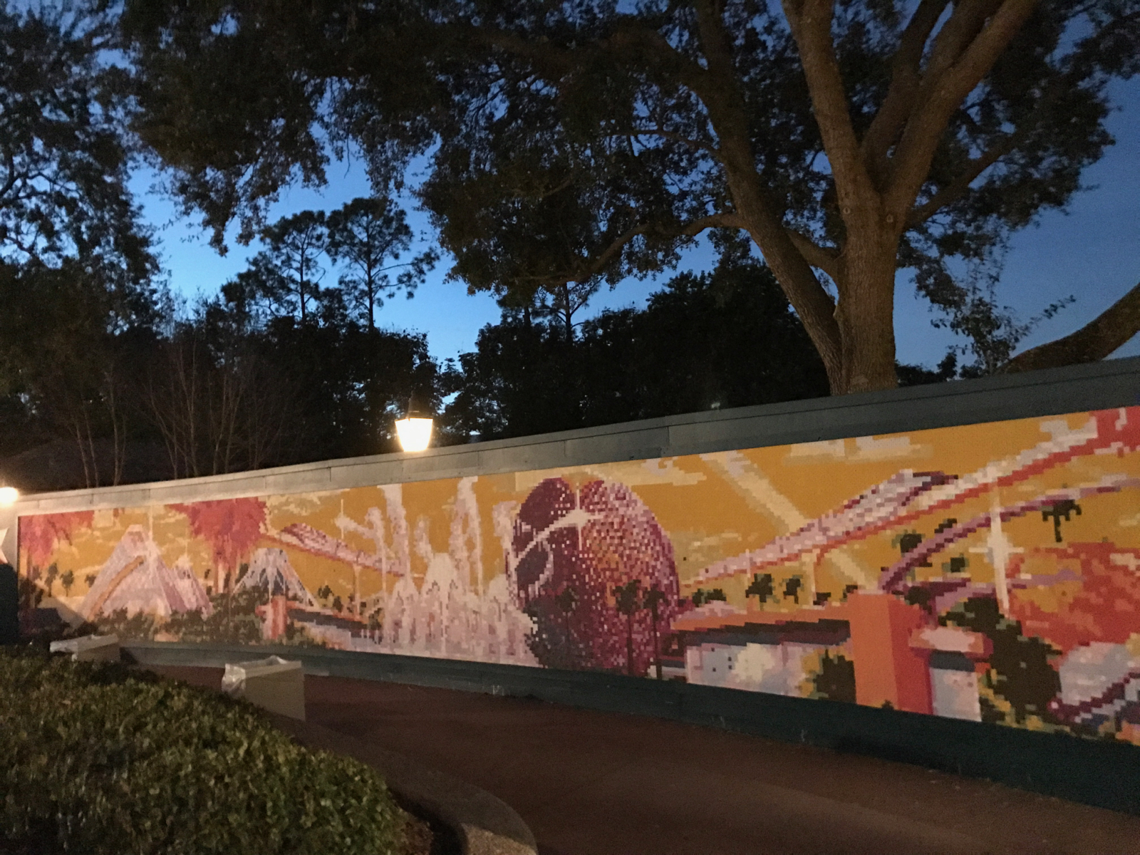 mouseplanet walt disney world resort update for january 24 30 the paint by number mural